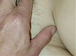 Mature Asian lady takes two cocks