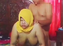 Hijab doggy genjot