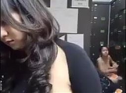 Naomi Change clothes on behind